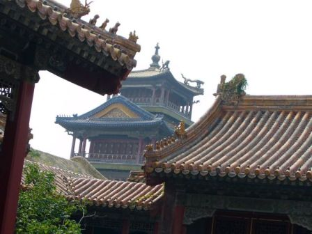 An example of traditional Chinese architecture.
