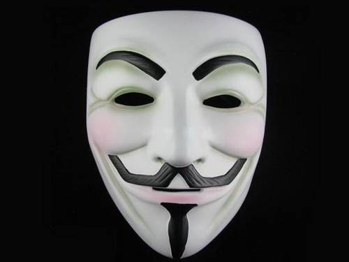 The false image of guy fawkes aleph 39 s heretical domain - Pictures of anonymous mask ...