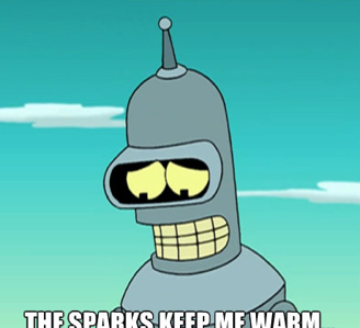 Yes Bender, we know.