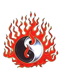 It's heard to find an image for the Black Flame as a concept, so let's use this image as a basic illustration of it.